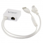 VONETS VAR11N-300 Wireless 300Mbps Mini Network Router Wi-Fi Repeater Bridge Adapter - White