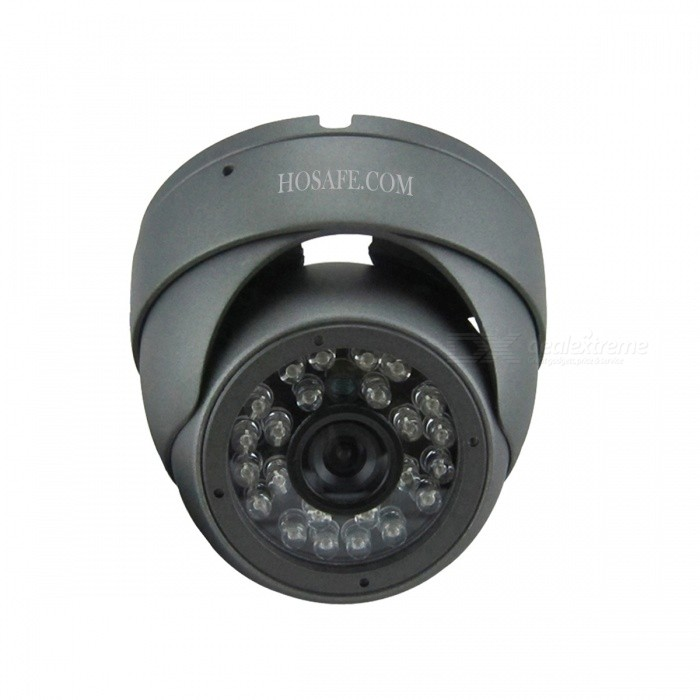HOSAFE 1MD1G 1.0MP HD Security Dome IP Network Camera - Grey (EU Plug)