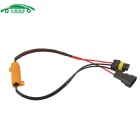 CARKING coche 9006 Socket LED Error ADVERTENCIA Canceller decodificador con 50W 8 ohmios resistencia