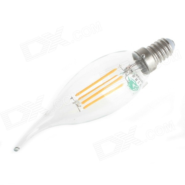 Zweihnder E14 4W 380lm Warm White Lamp (220~240V / 4PCS)