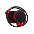 B.O.W MINI-503 Bluetooth V2.1 Stereo Headset Sports Earphone - Red