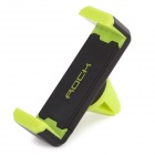 ROCK Universal 360 Degree Rotatable Car Air Vent / Mount Holder for IPHONE / Xiaomi + More - Green