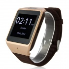 "Atongm W007 1.54 ""berøringsskjerm Smart Bluetooth Watch m / kamera - Deep Brown"