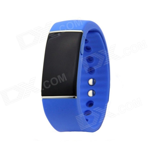 "0.91"" BT Waterproof Smart Bracelet w/ Call Reminder, Exercise Tracker"