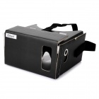 iBlue Cardboard Headband Virtual 3D Glasses for Mobile Phones - Black