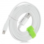 Le Touch Matrix Series USB Lightning Data Cable for IPHONE / IPAD / IPOD - White (150cm)