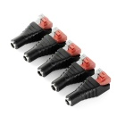 5.5 x 2.1mm Male Plug / DC Power Adapter / Monitor / LED Power Supply (5 PCS)