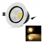 12W 1190lm 3000K Warm White Light COB Ceiling Lamp (AC 100~240V)