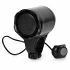 Bike Bicycle Anti-Theft Security Alarm Siren Horn - Black (4 x AG13)