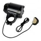 Bike Bicycle Anti-Theft Security Alarm Siren Horn - Black (4 * AG13)