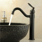 Antique Brass ORB Bathroom Sink Faucets - Black