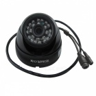 HOSAFE 1MD1B 1.0MP HD Security Dome IP Network Camera - Black US Plugss