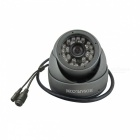 HOSAFE 1MD1G 1.0MP HD Security Dome IP Network Camera - Grey (US Plug)