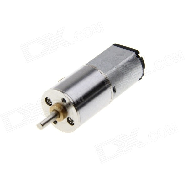 60mA 6V 200RPM Dust-resistant Large Torque DC Gear Motor - Grey