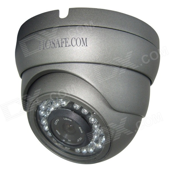 HOSAFE 2MD2G Waterproof 2.0MP 1080P POE ONVIF Dome IP Camera - Grey