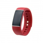 "0.91 ""Bluetooth 4.0 wasserdichte intelligente Armband w / Call Reminder / Ruhe Monitoring / Tracker - Red"