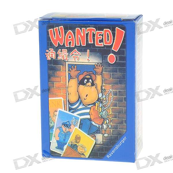 Vintage Board Game - Wanted! lifeboats board game puzzle cards games english chinese edition funny game for party family with free shipping