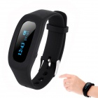 "SH04 0,91 ""Bluetooth Smart-Armband w / Activity Tracker / Sleep-Monitor / Remote-Kamera - Schwarz"