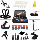 Pro 31-in-1 Accessories Basic Travel Kit for Gopro Hero 4 / 3+ / 3 / 2 / 1 - Black