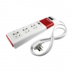 HONYAR Smart Wi-Fi Remote Control Smart Power Socket w/ 2-Port USB / Timing Plan Booking