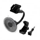 360 Degree Rotational Car Mount w/ Type-J Base / Suction Cup for GoPro Hero 2/3/3+/4 SJ4000