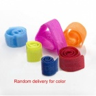 6-in-1 Nylon Cable Management Holder Organizer - Multi-Color