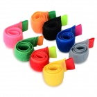 8-in-1 nylon cable management holder organizer - multi-color