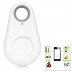 Wireless Bluetooth V4.0 Anti-lost Tracker w/ Remote Shooting / Recording / Positioning - White