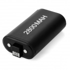 """2800mAh"" Batteries + USB Cable for Xbox One Controller - Black"