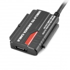 USB 3.0 to IDE / SATA HDD Adapte + Cable + Charger - Black (EU Plug)