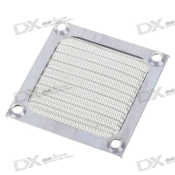 Aluminum Computer Case Fan Dust Guard Grill Protector (6CM)