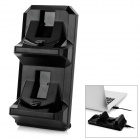 5V Dual Slot Charging Dock for PS4 Wireless Controller - Black