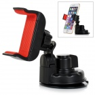 360' Rotation Car Suction Cup Stand Holder Mount Bracket for GPS / Cell Phone & More - Black + Red