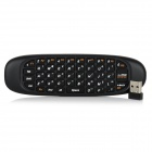 2.4GHz Wireless Air Mouse + Keyboard for Android / Windows / MAC / Linux Devices - Black