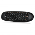 2.4GHz Wireless Air Mouse w / clavier pour appareils Android, etc - Noir