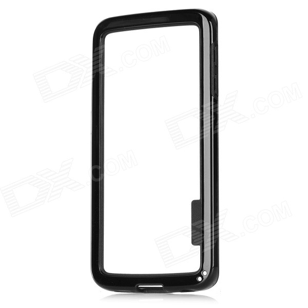 TPU + PC Bumper Frame for Samsung Galaxy S6 Edge - Black