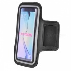 Protective Sports Neoprene Armband for Samsung S6 / G920, HTC M9 - Black