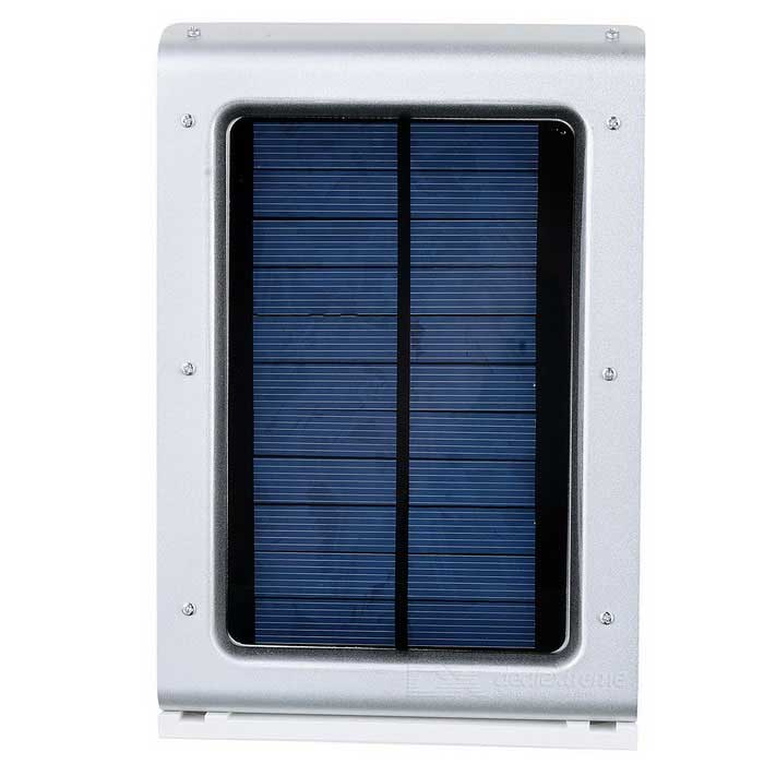 1.2W 7lm 6500K Motion-Motivated Solar Powered Wall Light Lamp