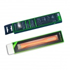 JIAWEN 1.2W Universal Bendable USB Mini LED Light White 6500K - Orange