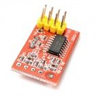 AD7705 2-Channel 16-Bit ADC Data Acquisition Module - Red