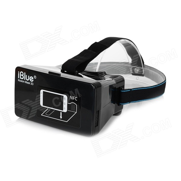 "iBlue Virtual Reality 3D Glasses w/ NFC for 3.5~6"" Phone"