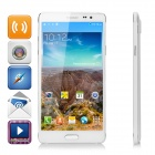"N9500 MTK6582 Quad-core Android 4.4.2 WCDMA Smart Phone w/  5.7"" IPS HD,8GB, 5.0MP,Wi-Fi,GPS - White"