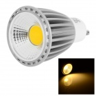 LeXing Lighting GU10 8W COB LED Spotlight Warm White Light 3500K 540lm (AC 85~265V)