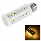 E27 9W LED Corn Bulb Lamp Warm White Light 3500K 850lm 42-SMD 5730 - White + Orange (AC 220~240V)