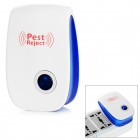 Multi-functional Ultrasonic Electronic Pest Repeller - White + Blue (US Plug)