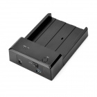 "USB 3.0 2.5"" / 3.5"" Horizontal Mobile HDD Docking Station - Black"