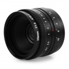 C Mount F1.6 Lens w/ C-NEX Adapter Ring / Macro Ring for Sony Micro Single Lens Camera - Black