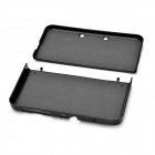Protective Aluminum Front + Back Full Body Case for NEW 3DS - Black