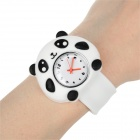 Kid's Panda Silicone Band Quartz Analog Watch - White (1*377)