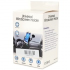 360' Rotation Car Suction Cup Mount for Mobile Phones - Blue + Black